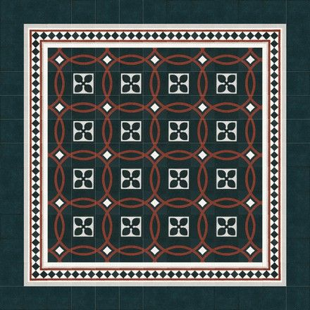 Schönes Muster aus VIA Terrazzoplatten #VIA #terrazzo #tiles #gruenderzeit