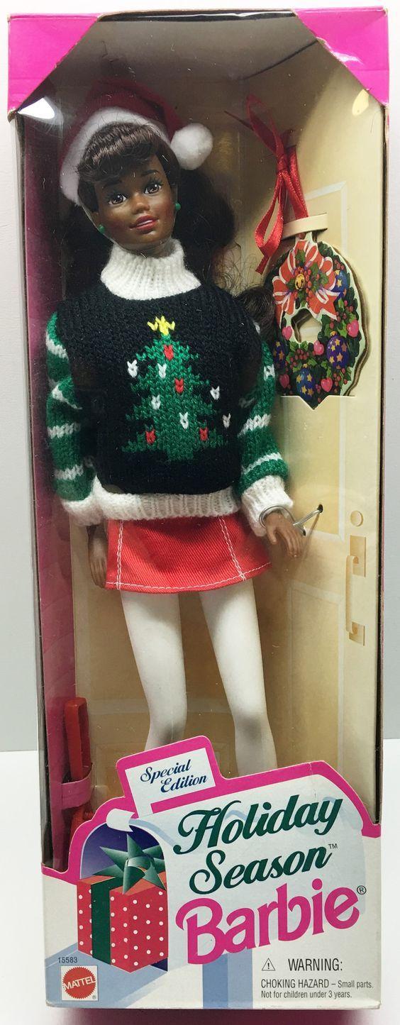 (TAS033328) - 1996 Mattel Holiday Season Special Edition Barbie Vintage Retro
