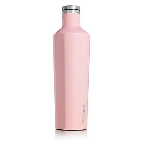 CORKCICLE | 25oz Canteen - Gloss Rose Quartz