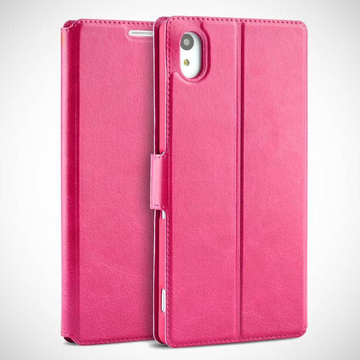 New-Slim-Flip-Wallet-PU-Leather-Phone-Pouch-Case-Cover-for-Sony-Xperia-M4-Aqua