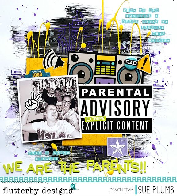 We Are the Parents!   Flutterby Designs   Sue Plumb