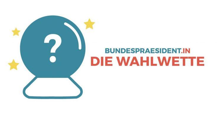 Jetzt auf den Ausgang der #Bundespräsidentenwahl wetten und gewinnen! Nur noch heute, Samstag, bis 24 Uhr! #bpw16