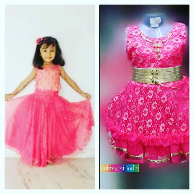 A perfect pink cocktail dress for your little one.  #indianwear #fashion #fashions #trends #cultures #culture #india #indian #girlswear #ethnic #kids #kidswear  #clothes #clothing #beautiful #lehnga #indiansaree #indiansari #indiansarees #saree #sarees #indianoutfits #designer  #dresses #indiandesigner #style #stylish #celebrity #outfits #littlegirldresses