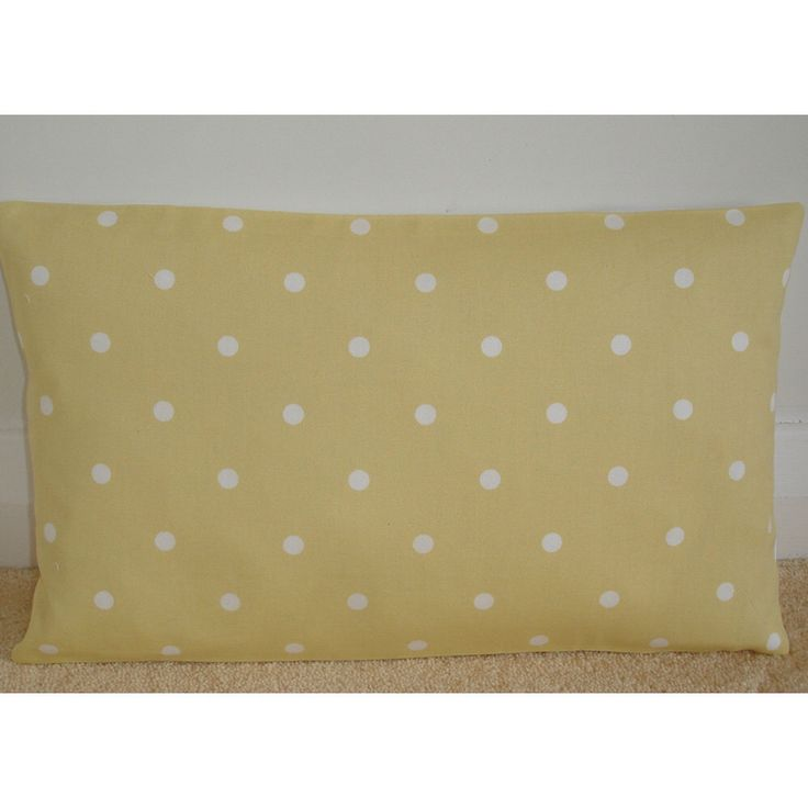 "20x36 King Pillow Sham Long 36"" x 20"" Yellow and White Polkadot Modern Oblong Bolster Case Cushion Cover Pillowcase King Pillow Polka Dots by pipdesigns on Etsy https://www.etsy.com/listing/176934507/20x36-king-pillow-sham-long-36-x-20"
