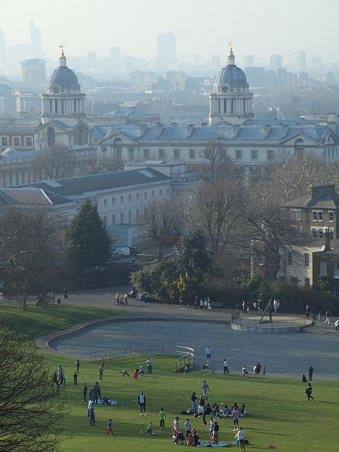 take advantage of the lovely weather....Greenwich Park!