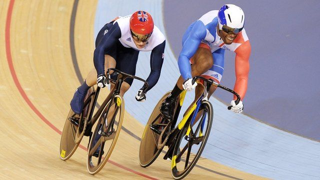 Jason Kenny takes sprint cycling gold