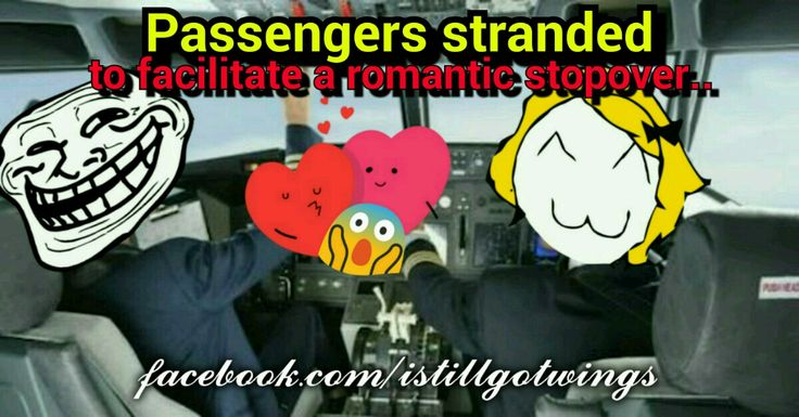 The poor passengers waited for two hours on Chennai tarmac to facilitate a romantic stop-over in Male.... ;) Wow, really creepy I must say!!!
