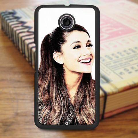 Ariana Grande Cute Smile Nexus 6 Case