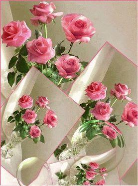 Resultado de imagen para imágenes de arreglo floral gif