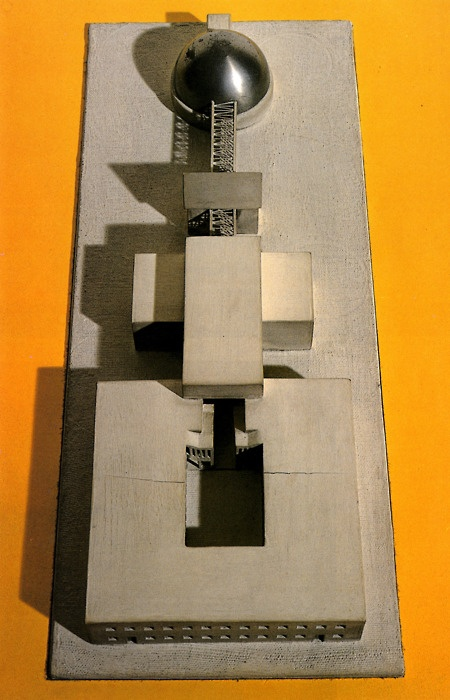 Aldo Rossi, Competition for the City Hall in Scandicci, Scandicci, Italy, 1968