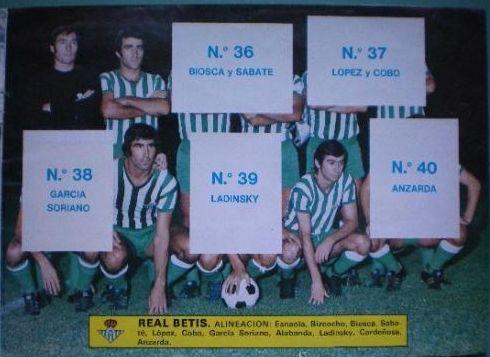 """Cromos Este 1976-77. """"Escudos y equipos"""". Liga Española. 09"""