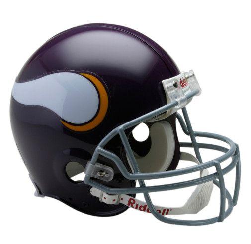 Minnesota Vikings 1961 to 1979 Authentic Full Size Throwback Helmet