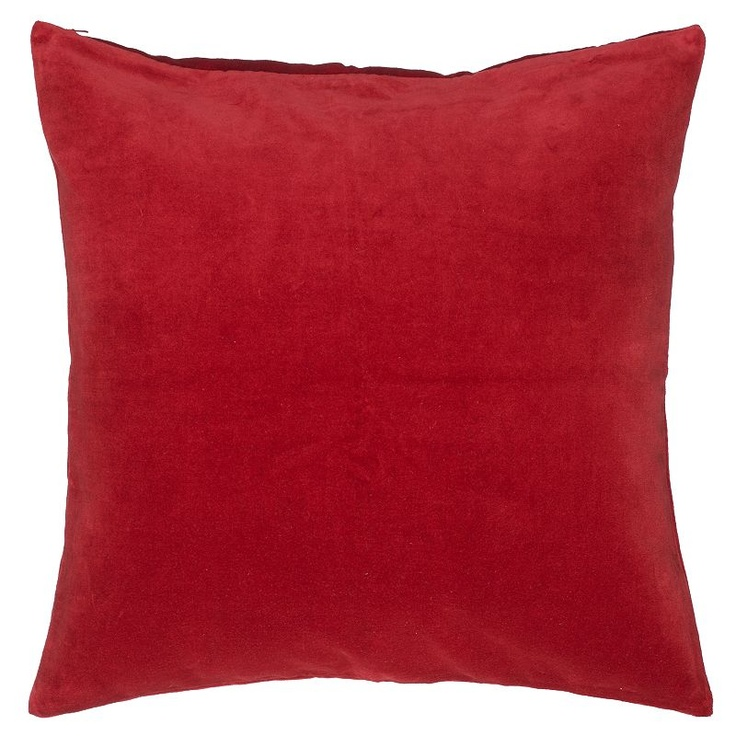 buy john lewis plain velvet cushion red online at. Black Bedroom Furniture Sets. Home Design Ideas