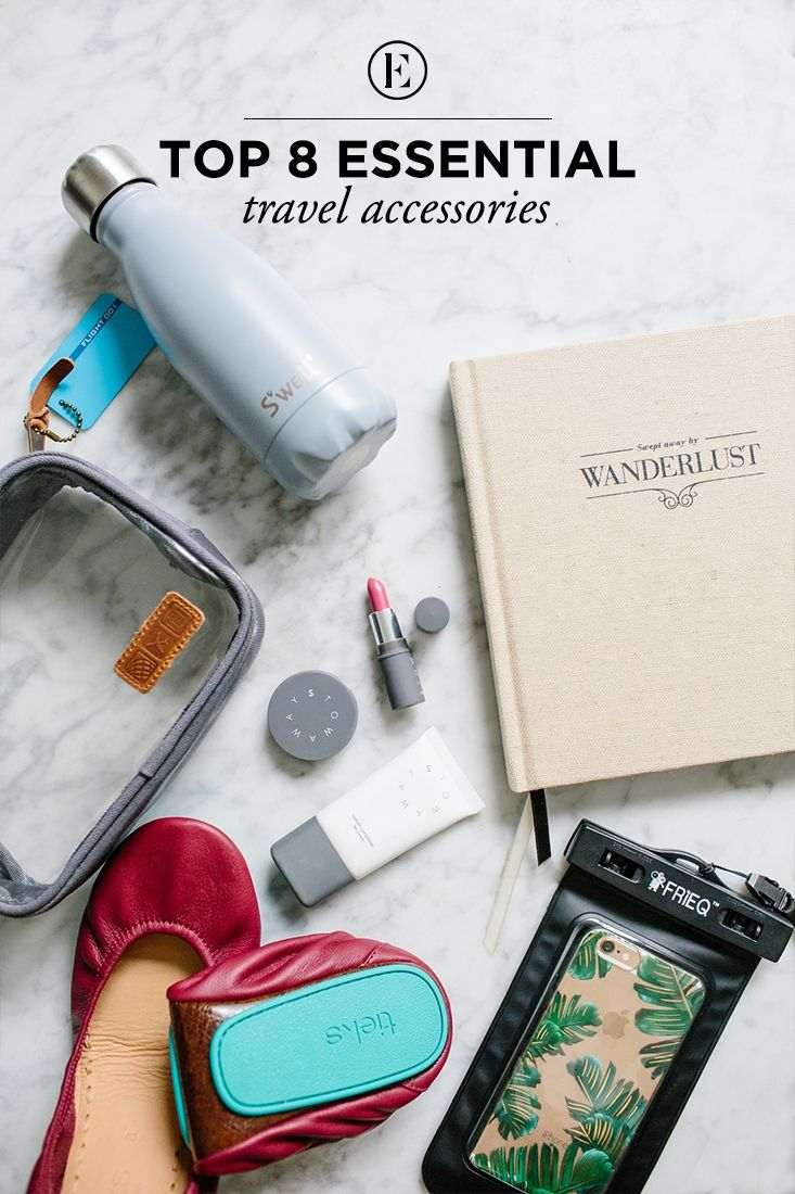 8 Travel Accessories We're Currently Loving #theeverygirl #travel #packing