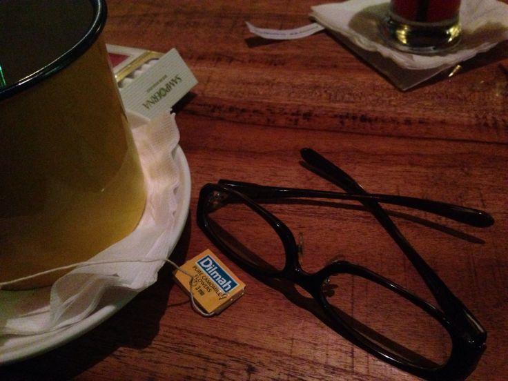 Glasses Journey with Dilmah Tea