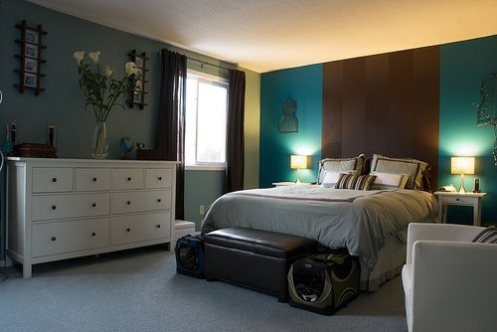17 best ideas about blue brown bedrooms on pinterest for Aqua blue bedroom ideas