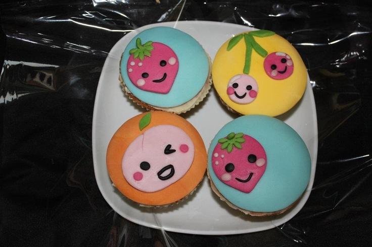 Kawaii cupcakes :-)