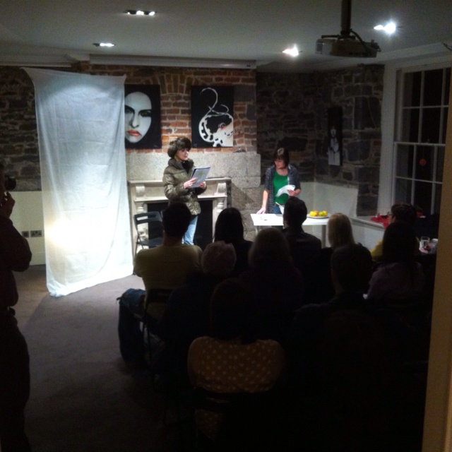 The Breakaway Project performing Reagan Chestnut's play Krylie in CFCP