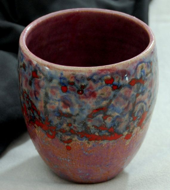 Full Circle  stoneware clay bowl handmade ceramic bowl
