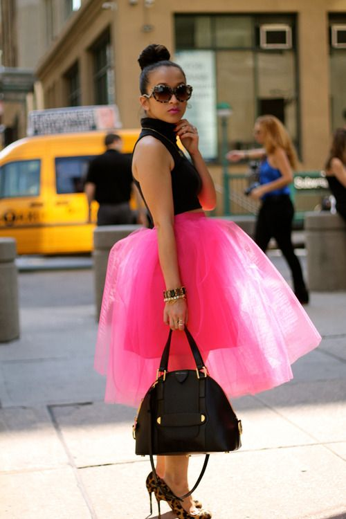 so fun and playful! wish i could rock this! lol