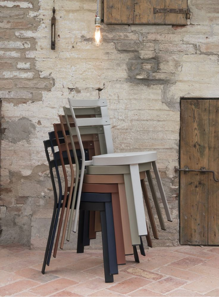 Cord, Glass, Eco Leather, Aluminium And Steel New Outdoor Collection By Emu  At Maisonu0026Objet