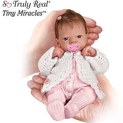 realistic baby dolls tiny miracles - Google Search