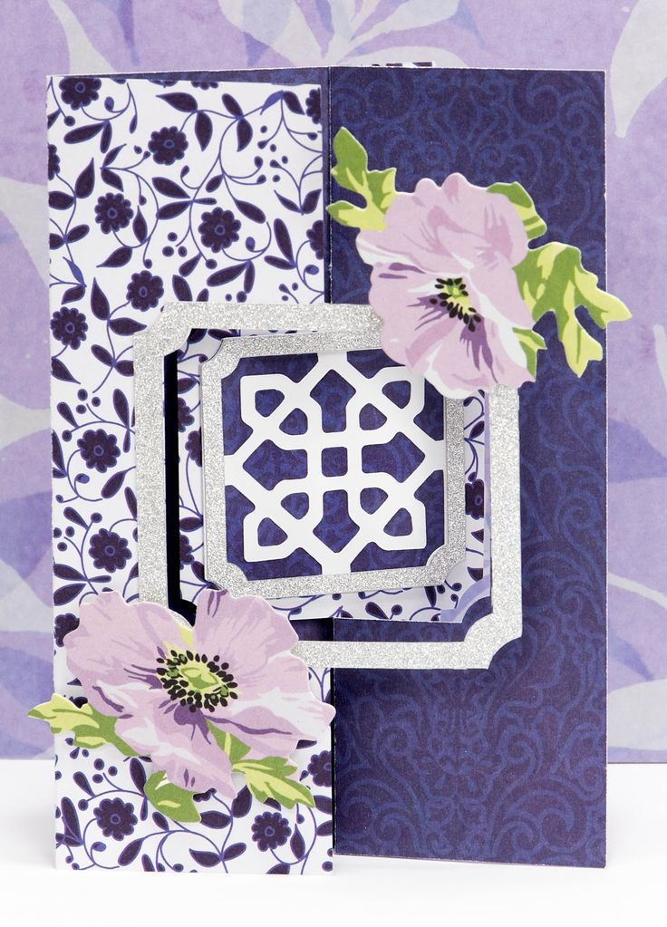 Last month, I posted a card that I made using Anna Griffin's Fantastic Flips Card Cricut Cartridge from HSN and I could not wait to make ano...