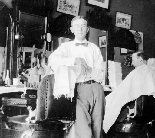 Man Cave Barber Dublin : Best images about vintage barber shops related on