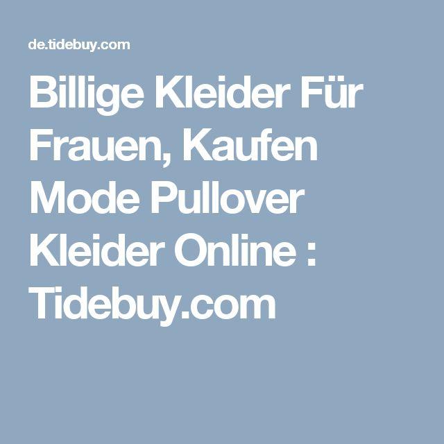 Billige Kleider Für Frauen, Kaufen Mode Pullover Kleider Online  : Tidebuy.com