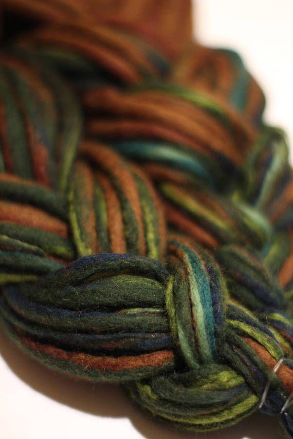 FULL HEAD 40 DE Brown / green wool dreadlocks | forest love | 100% handmade | worldwide shipping  https://www.etsy.com/shop/MrsWoolsonHandmade ● #woolies #wooldreadlocks #wooldreads #dreadlocks #dreads #rasta #tribal #gypsy #dreadextensions #dread #handmade #handmadedreadlocks #wool