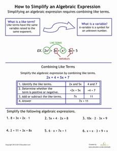 translating words into algebraic expressions worksheet pdf 1000 images about algebra on. Black Bedroom Furniture Sets. Home Design Ideas