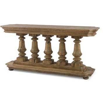 Monarch Fine Furniture Balustrade Console Table by Century