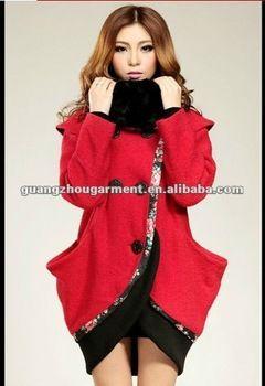 heavy winter coats for women from OEM factory