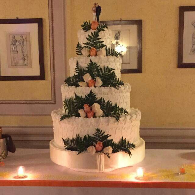 Torta nuziale di Andrea e Michela...  5 dicembre 2015