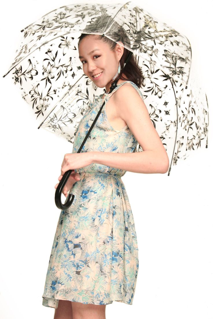Lilly Bubble Birdcage Umbrella