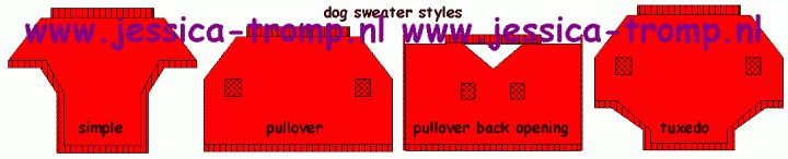 FREE dog clothes patterns by breed! Poor Gus is going to look so cute!