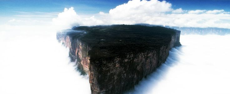 The lost world - Roraima, Afrika