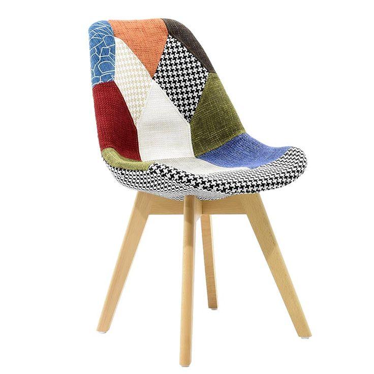 Fabric seat pachwork