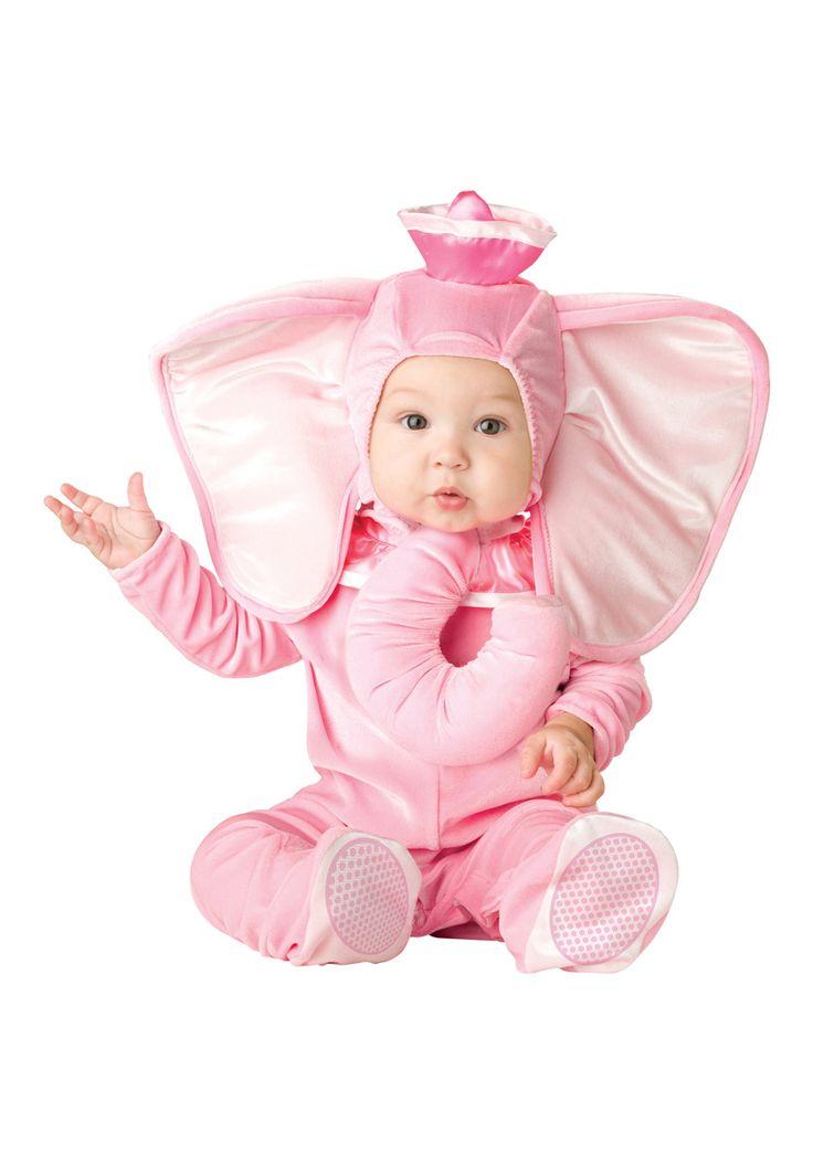 Toddler/Infant Pink Elephant Fancy Dress Costume - General Kids Costumes at Escapade™ UK