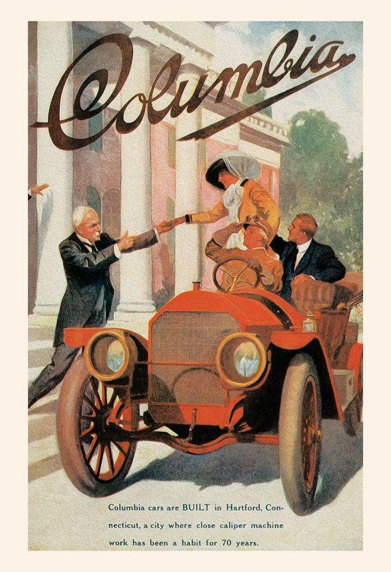 20 Best Antique Car Posters Images On Pinterest Art Deco Posters