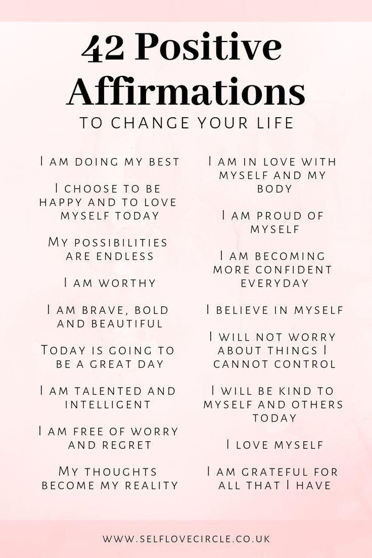 Positive Affirmations For Relationship