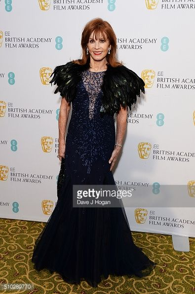 Stefanie Powers attends the official After Party Dinner for the EE British Academy Film Awards at The Grosvenor House Hotel on February 14 2016 in...