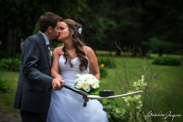 Maripier & Charles 09.07.2016 #mariage #wedding #hockey #love #anneaux #rings
