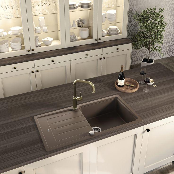 47 besten Küchenspülen \ Armaturen Bilder auf Pinterest - keramik waschbecken k che
