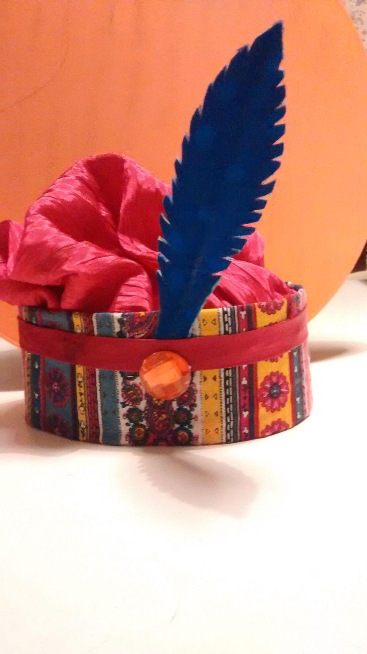 Doe het zelf zwartepietenhoed - carnavalhoed - carnaval hat tutorial