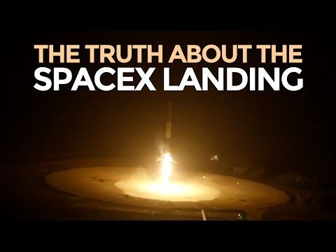 """The SpaceX Reuseable Rocket Landing - Mike Maloney - Not sure why the ominous title """"the truth about"""", but yeah, go mr Musk!!"""
