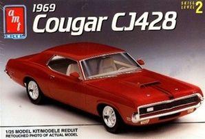 1969 Mercury Cougar 428 CJ (1/25) (fs)