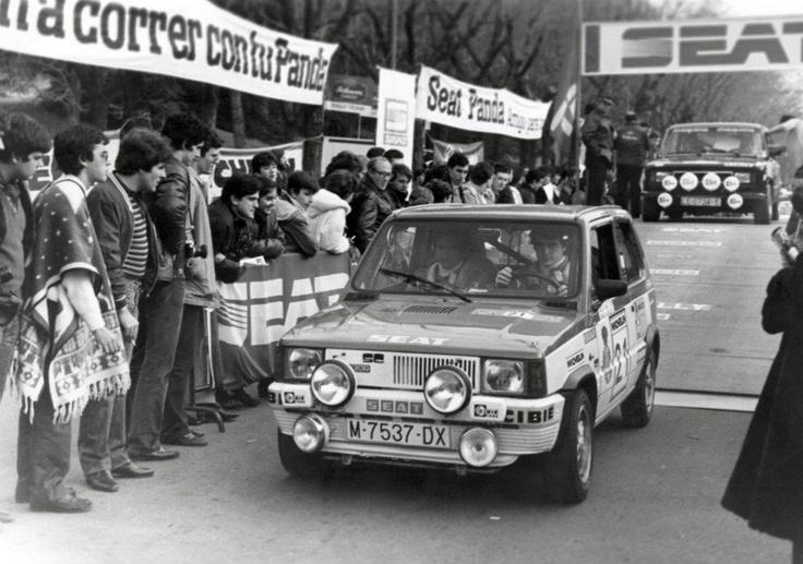 Carlos Sainz-Juanjo Lacalle. SEAT Panda Gr.2. Shalymar Rally 1982