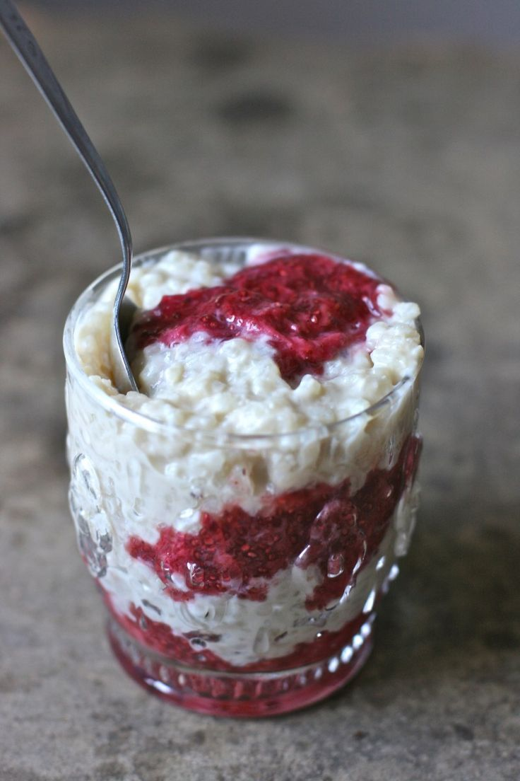 Creamy Slow Cooker Vanilla Rice Pudding with Chai Jam + a ...