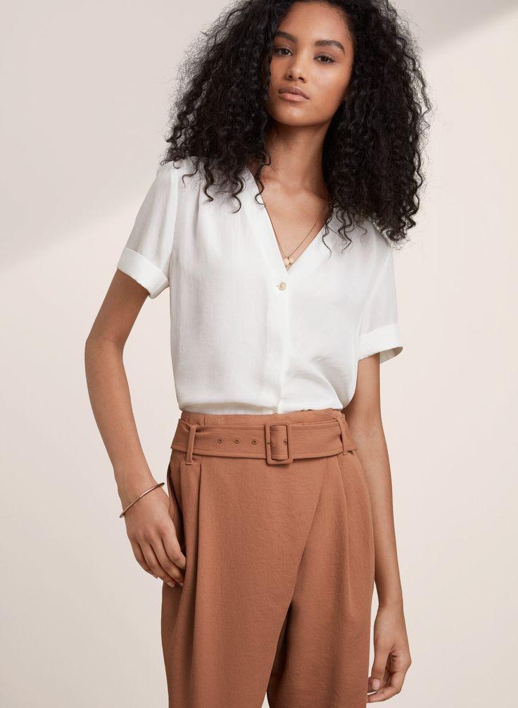 aritzia - wilfred - nobel blouse